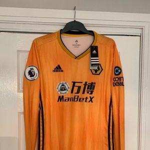 Wolverhampton official 2019-2020 Soccer Jersey